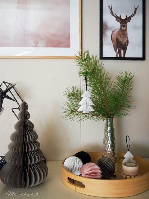 taulu juliste posterstore blogiyhteistyö boheemi joulu olohuone sisustus alekoodi