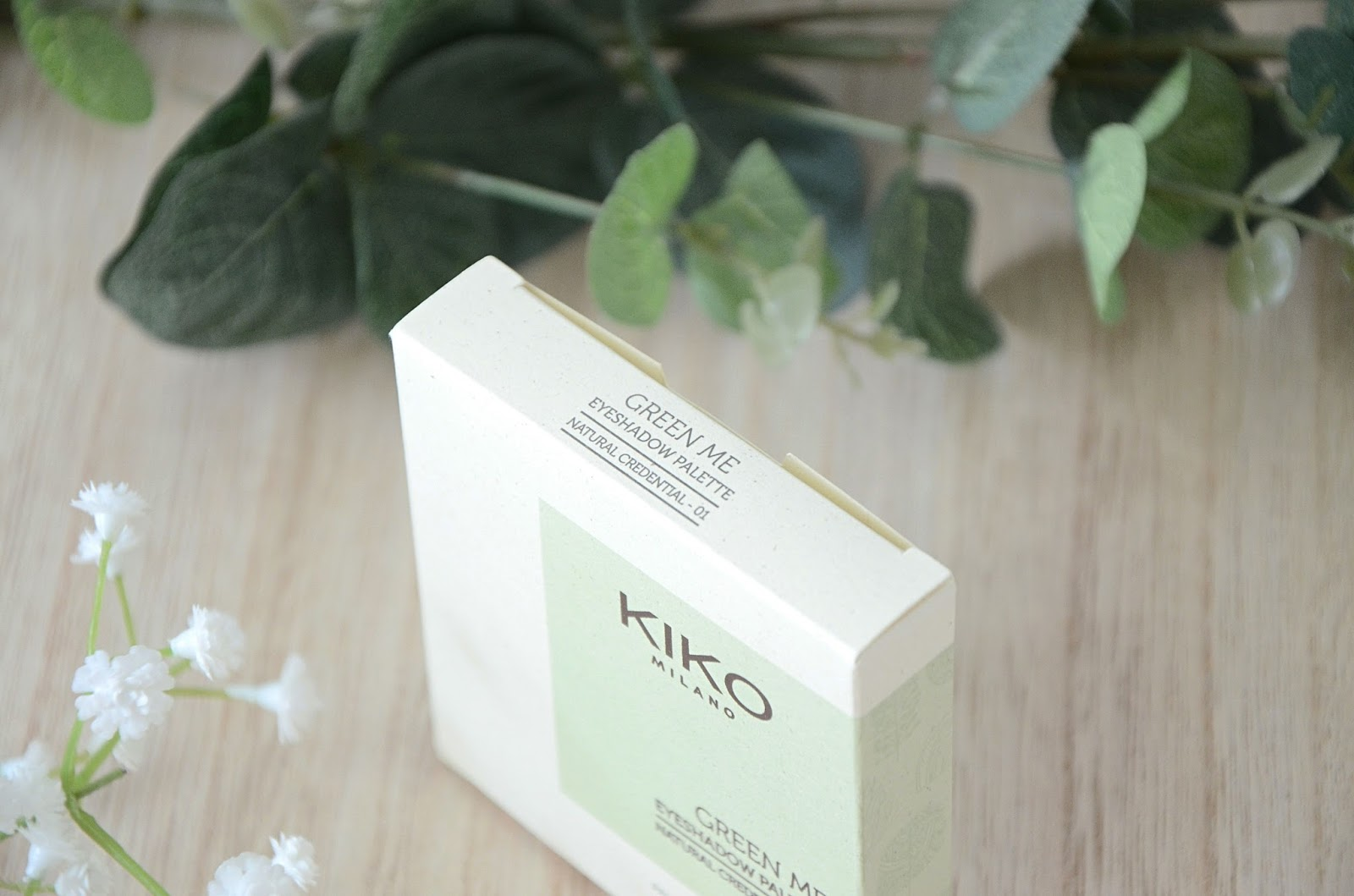 01 natural credential Palette green me kiko