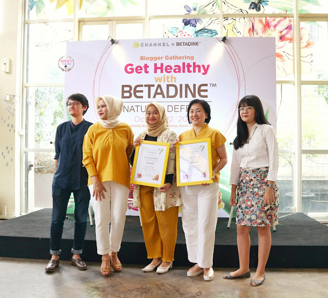 Betadine Natural Defense Event Report