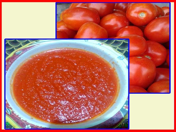 Homemade Tomato Paste For Cooking