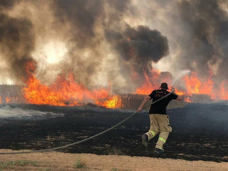 Kebakaran Hebat, PM Israel Minta Tolong