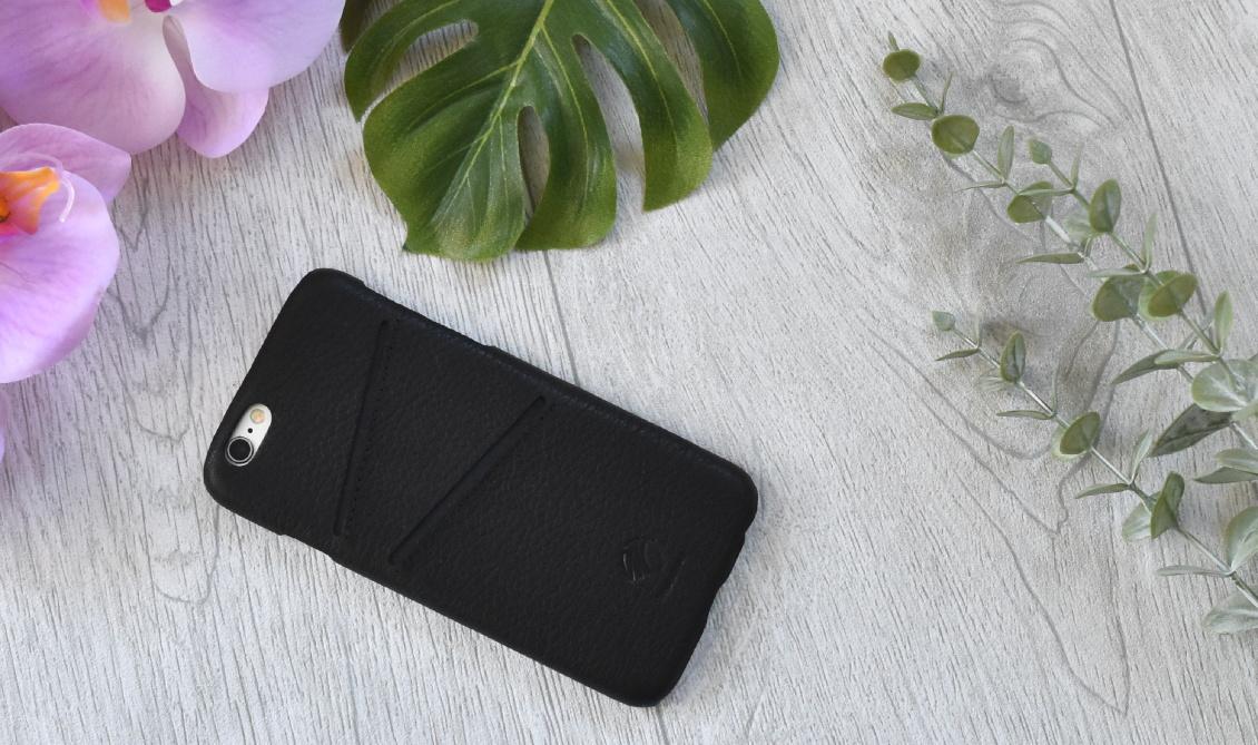Stylischer Schutz fürs Handy - Handyhüllen iPhone 6s und iPhoneXs - Leder Kartenslot