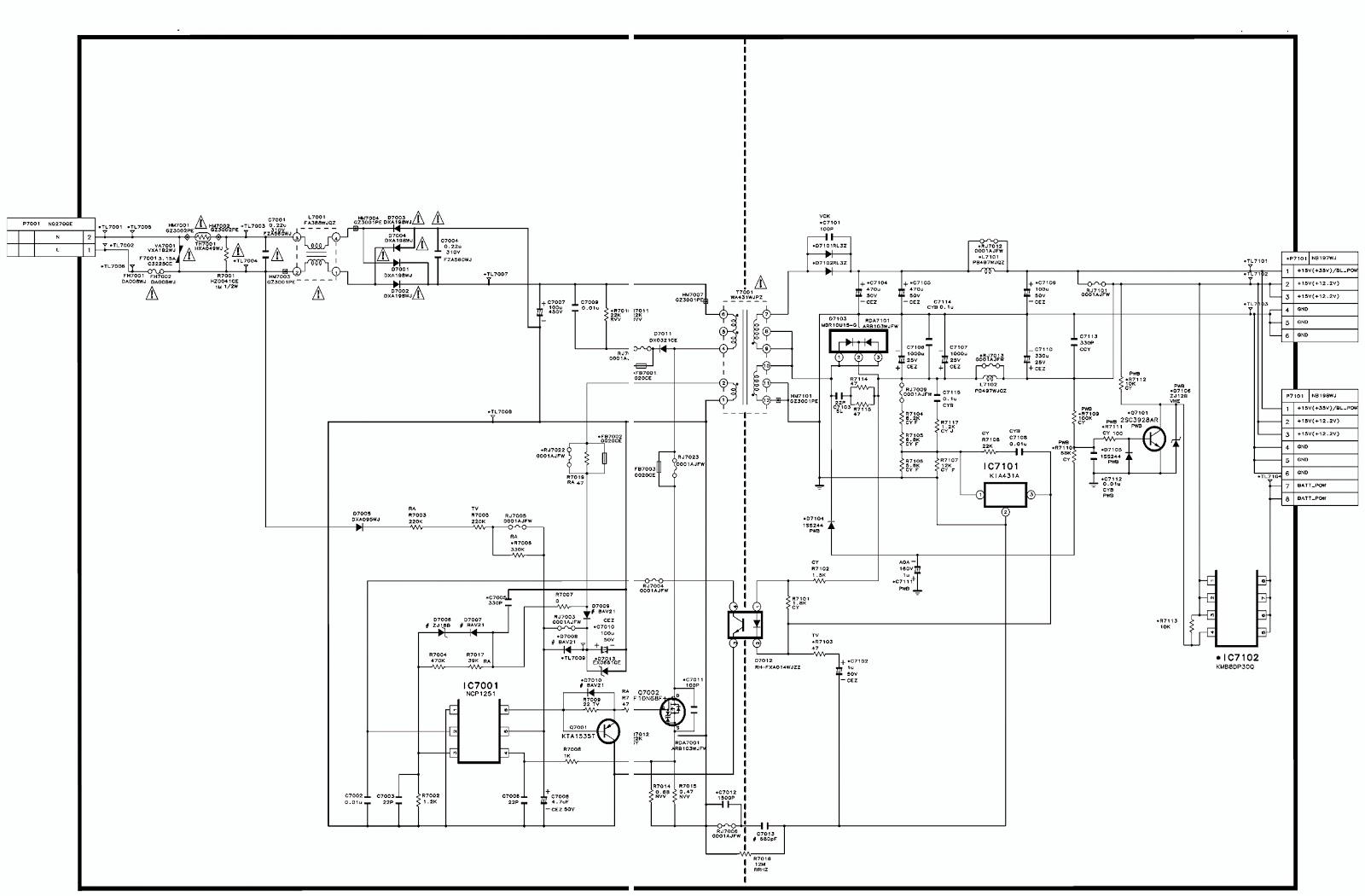 sharp lc24le150m led backlight tv smps schematic. Black Bedroom Furniture Sets. Home Design Ideas
