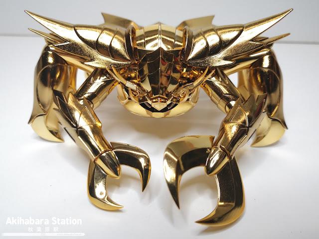 Review del Saint Cloth Myth EX Cancer Deathmask OCE de Saint Seiya - Tamashii Nations