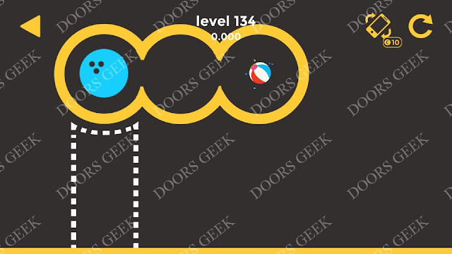 Ball & Ball Level 134 Solution, Walkthrough, Cheats for android and ios