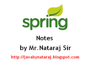 Spring Notes by Nataraj Sir_JavabynataraJ