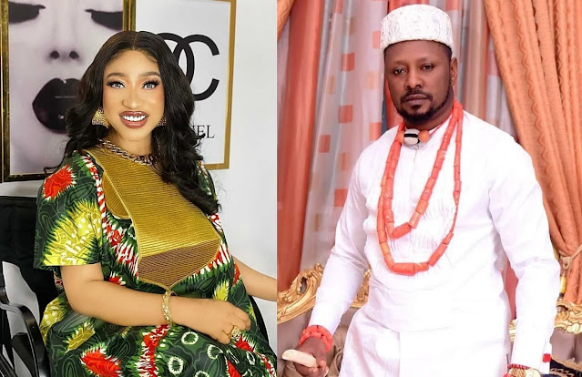 A lot is going on- Actress Tonto Dikeh cries out hours after she blocked her politician boyfriend, Prince Kpokpogri