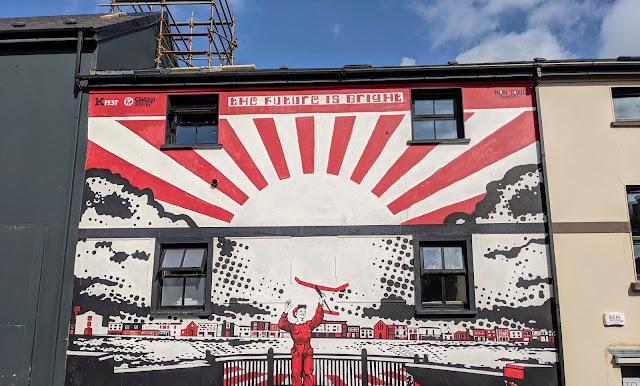 Street art in Killorglin Ireland