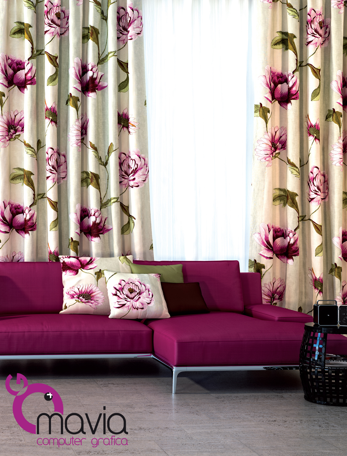 Arredamento di interni tende per interni moderne e classiche for Tende arredo interni