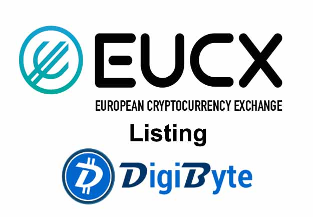 EUCX Exchange announced the listing of DigiByte