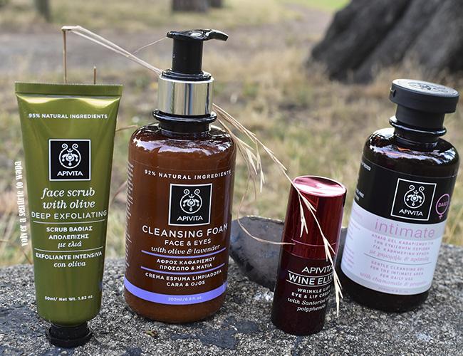 Cuatro cosméticos de Apivita que te recomiendo