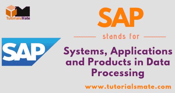 SAP Full Form