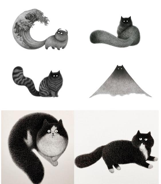 Kamwei Fong illustrations