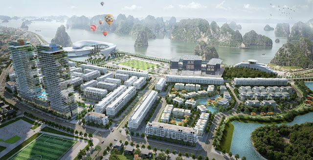 Dự án Mon Bay Hạ Long tại trung tâm Vịnh Hạ Long