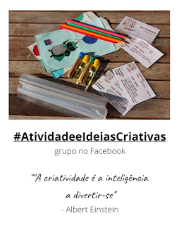Grupo no Facebook sobre atividades para crianças