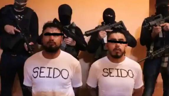 Video; El CJNG captura a dos agentes de la SEIDO y los obliga a declarar contra Marina, ejercito y desaparecer narcos