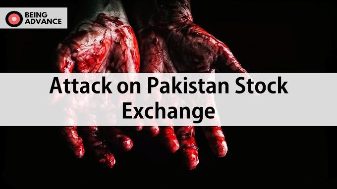 7 People Killed in Terrorist attack on Pakistan Stock Exchange