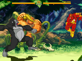 Mugen Flash vs Gorilla Grodd
