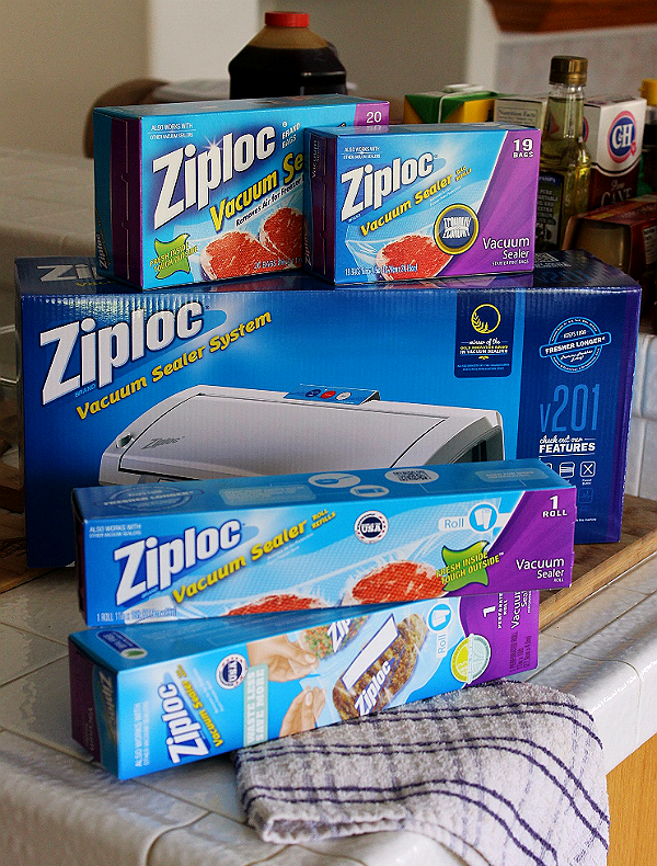 Prep 7 Meals in 70 Minutes with the Ziploc Vacuum Sealer System and These Make Ahead Meal Recipes!