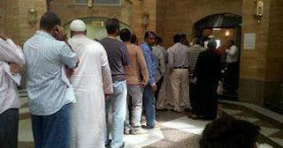 تصويت المصريين بالخارج فى انتخابات الرئاسة 2012