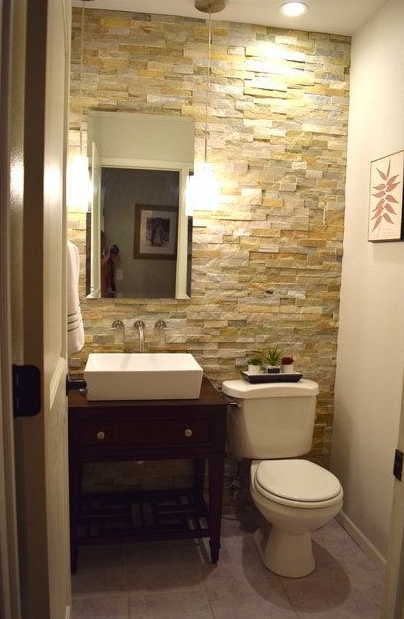 DECOR IDEAS THAT MAKE SMALL BATHROOM FEEL BIGGER
