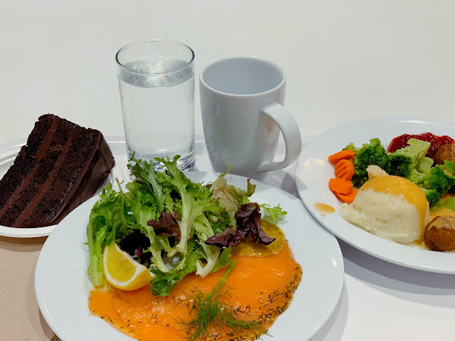 Lunch at Ikea Cafe