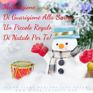 Un piccolo regalo di Natale, per te!  ★ 'Meditazione di Guarigione alla Sarno' | Healing TMS or MindBody Syndrome ♡