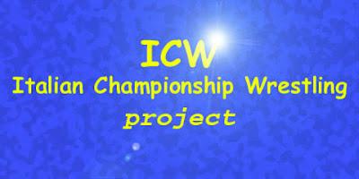 L'embrionale logo della Italian Championship Wrestling, ''ICW project'', del 2000