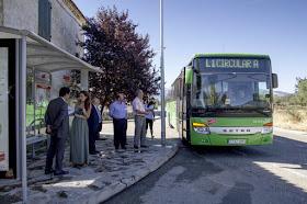 Nuevas marquesinas de autobús en municipios de la Sierra Norte