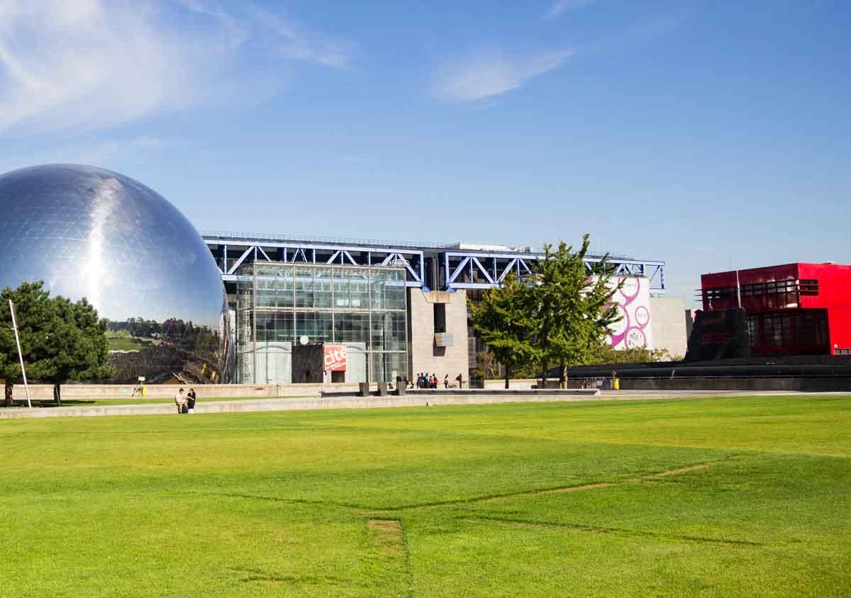 Paris com criança Museu de Ciência e Parc La Villette Cité des Sciences Industries