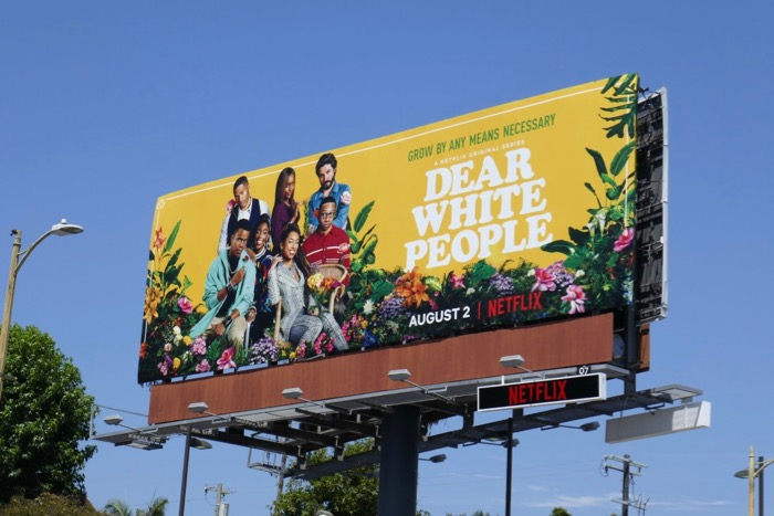 Dear White People season 3 billboard