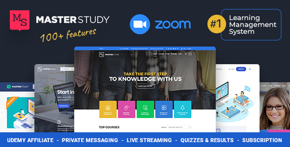 Masterstudy - Education WordPress Theme for Learning, Training Education Center
