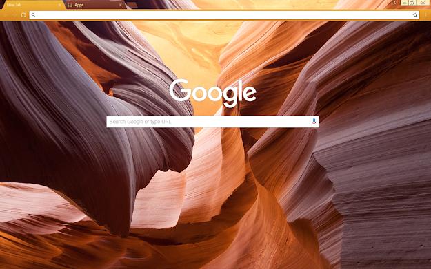 Canyon Google Theme