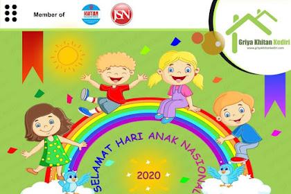 Khitan Hari Anak Nasional | Griya Khitan Kediri 0856 4880 2860