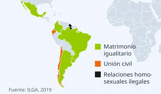 Matrimonio igualitario y Unión Civil en América Latina
