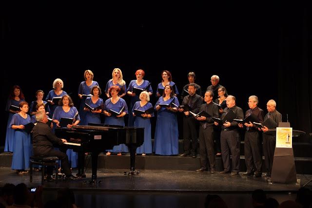 Η Δημοτική Χορωδία Επιδαύρου σήμερα στο Λυγουριό στην 18η Χορωδιακή Συνάντηση