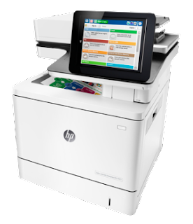 Printer protection is a theme of developing value HP Color LaserJet Enterprise MFP M577f Driver Download