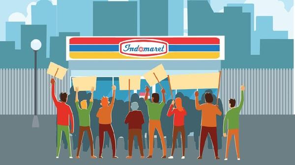 Buruh Boikot Indomaret Mulai Hari ini!