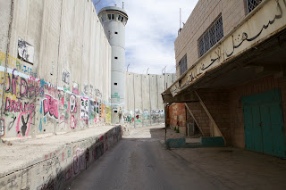The separation wall in Bethlehem
