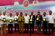 Sulaiman Z Dilantik Sebagai Ketua PGI Aceh