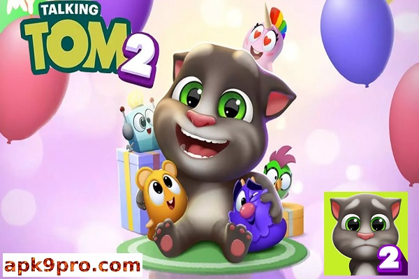 My Talking Tom 2 v2.2.0.43 Apk + Mod (File size 107 MB) for android