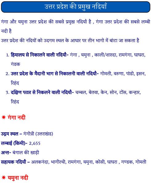 उत्तर प्रदेश की प्रमुख नदियाँ पीडीऍफ़ पुस्तक | UP Ki Pramukh Nadiya PDF Book In Hindi Free Download