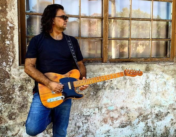 Paulinho Barcellos expõe na guitarra sentimentos do mundo do artista no álbum solo autoral 'My world'