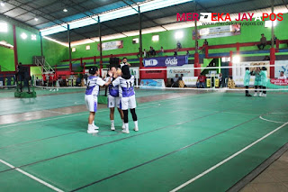 Kejuaraan Sepaktakraw U-40 Digelar Jepara