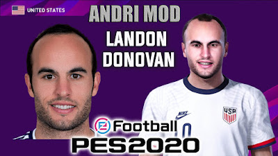 PES 2020 Faces Landon Donovan by Andri Mod