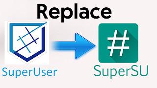 Cara Replace SuperUser Menjadi SuperSU For Advan i4D