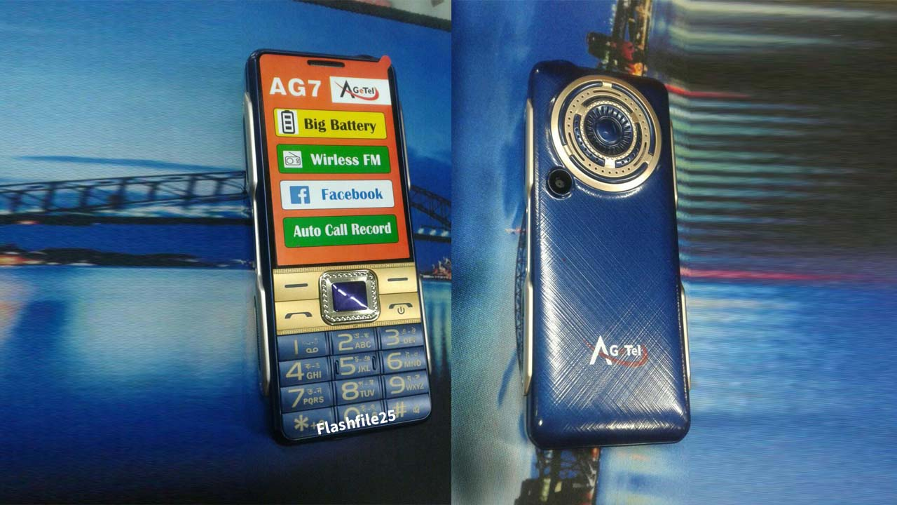 Agetel AG7 Flash File is a tested bin file for any of the feature phone flashing tools. This file comes in a zip package on your PC/Laptop