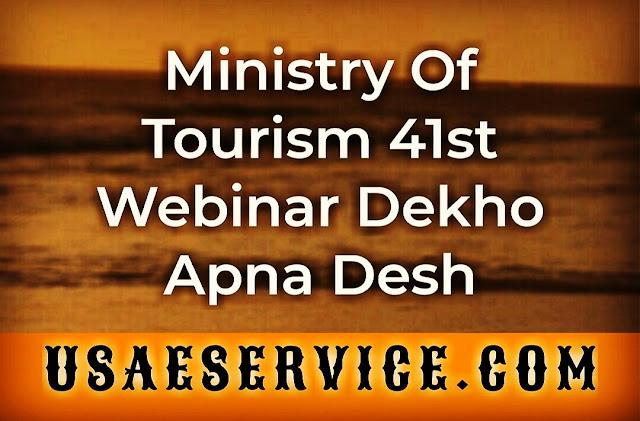 Ministry Of Tourism Webinar