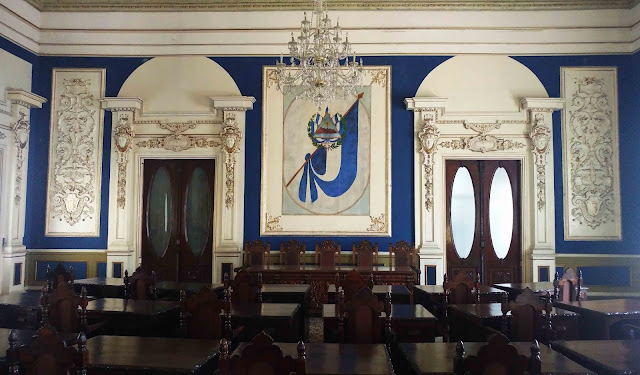 Blue Room (Salon Azul) at Palacio Nacional