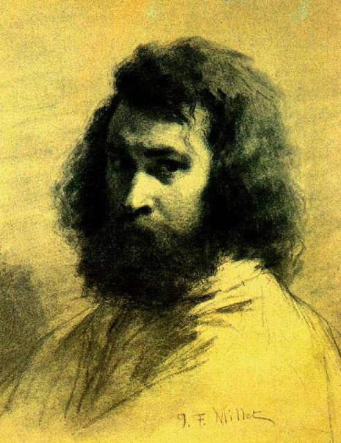 Жан Франсуа Милле - Автопортрет